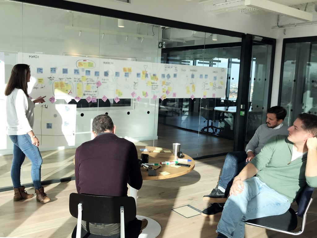 Design Sprint workshop with the team