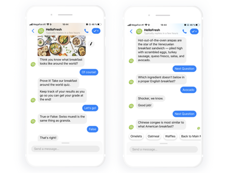 Chatbots example
